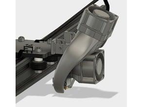 Tevo Tarantula Fanduct for Dual 40mm Fan
