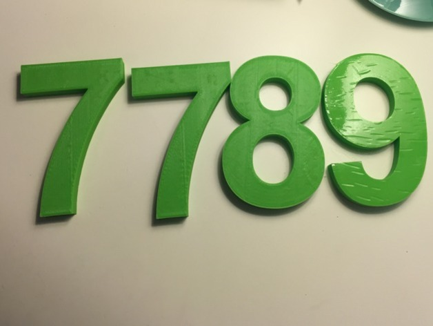 Letters, Numbers & Symbols OH MY! (100mm tall Arial Bold by