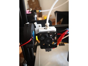 E3D hotend mount for Ender 3/Pro Creality