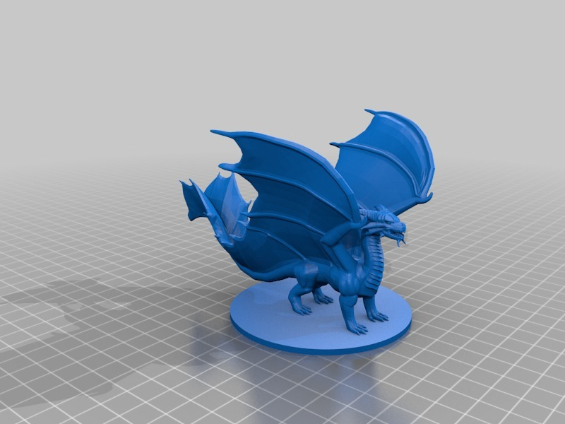 Copper Dragon by mz4250 - Thingiverse