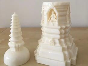 Sandstone Miniature Hindu Temple