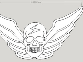 M.Bison Hat emblem (Street Fighter Alpha)