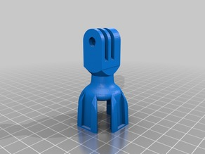 Flexible webcam mount for Octolapse GoPro holder