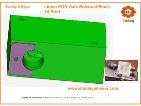 PRINT ME Stan Stanley A Meyers EGR Solenoid Gate Gas Rail Box