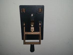 Frankenstein Switch w/ smooth face plate and supports removed