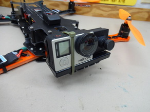 Camera mount for Flip FPV Pro with 15 Degree Angle
