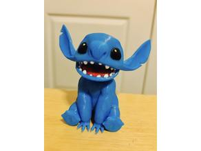 Stitch (4 Colour Multi-Colour Print)