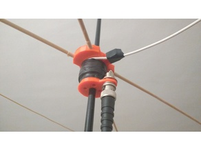 VHF 2m band Moxon beam antenna, backback foldable