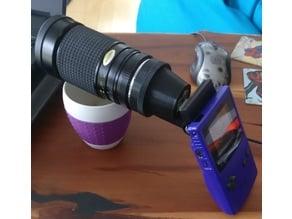 Gameboy Camera Lens Adapter Pentax-K / Canon EF