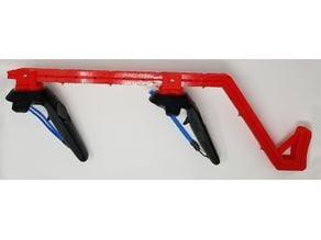 HTC Vive Gun Stock (magnetic, adjustable, easy print)