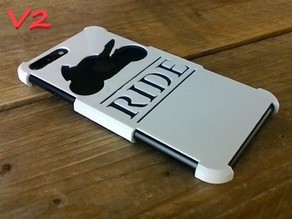 iPhone 8 Plus case 'RIDE' - V2 included!