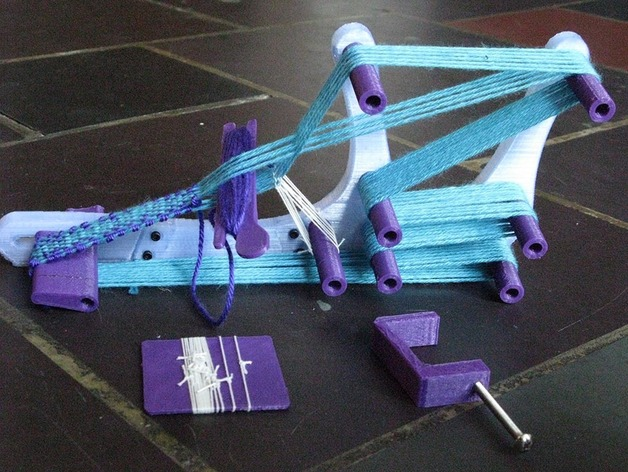 Mini Inkle Loom by Zydac - Thingiverse