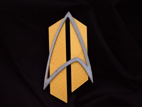 Star Trek Future Badge w/ Magnetic Backing
