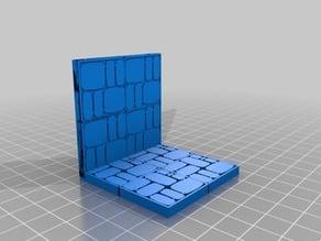 Dungeon Tiles - Cobblestone Walls and Floor