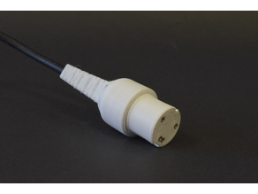 Connector for Becton Dickinson Invasive Blood Pressure Cable