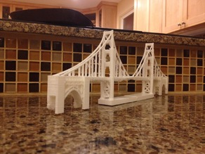 Golden Gate Bridge 2.0 - With better printability