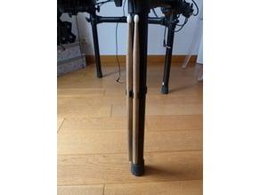 Drumstick holder / porte baguettes Roland rack