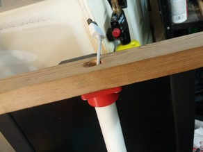 "1/2"" PVC Pass-Through Bulkhead/Hanger"