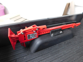 Mount for RC4WD high-lift jack