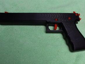 One Pice Rubber Band Gun Mark II