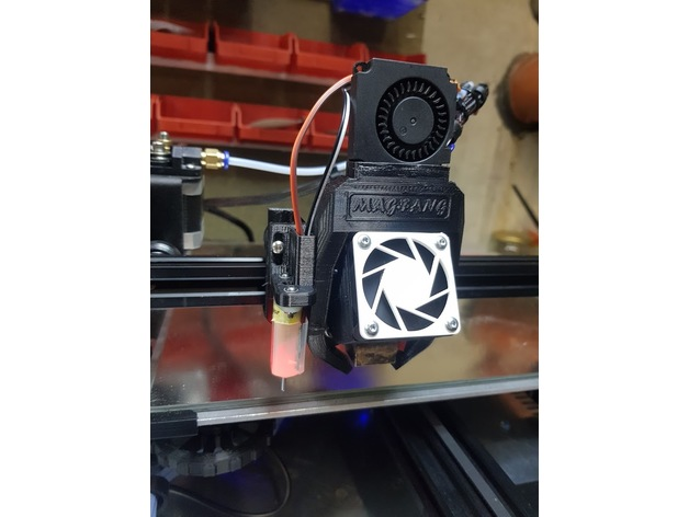 Adjustable BL-Touch / BFPTouch sensor mount for Ender 3 and