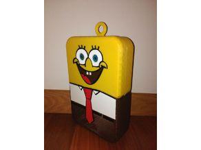 Sponge Bob Mask for ChemoBox-Kimiobox - Máscara de Bob Esponja para Chemobox-Kimiobox