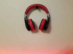 Simple, Quick Print Headphone Holder