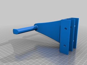 spool holder for 2020 extrusion