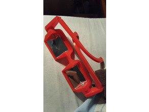 Belay glasses with hinge