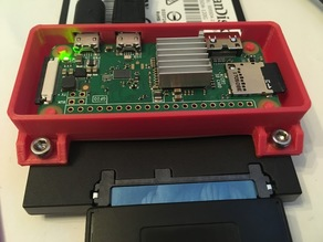 RPi Zero disk mount case