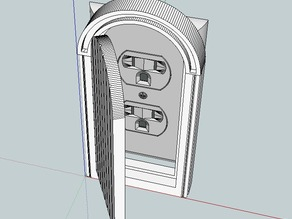 Power Outlet Door