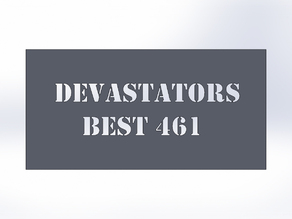 DEVASTATOR PLATE