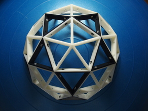 Geodesic dome 2V Assembly type