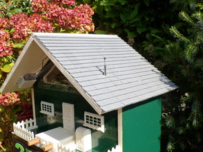 Roof for  bird house