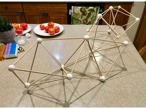 Tetrahedral Truss Hubs