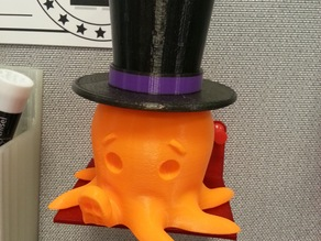 Top Hat for Cute Octo