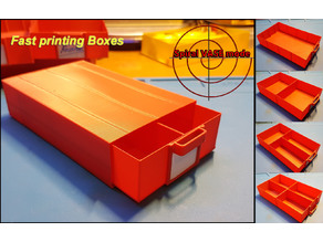 Fast Box, Fast printing boxes. Time saver design.