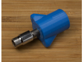 Stubby Hex Handle - good for nozzle changing