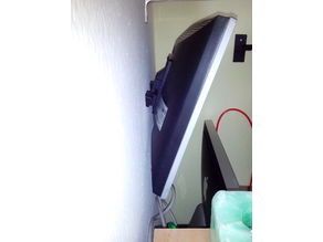 Inclined wall mount for VESA Monitor Wall Mount