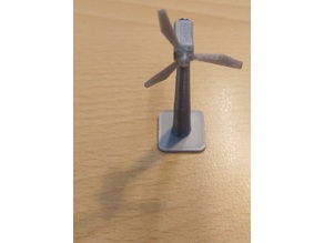 wind turbine / Windkraftwerk