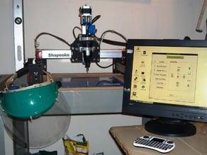 Shapeoko 2 Raspberry Pi B+ Workstation