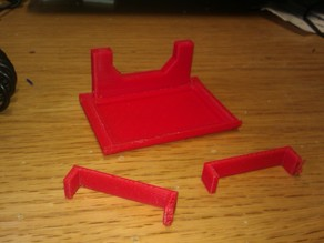 Makerfarm fan shielding for use with Magma hot end (mark 2) so the 9g servo fit's