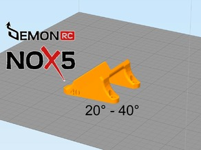 DemonRC - NOX5 Gopro Xiami Yi Mounts 20-40°