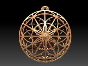 Sacred Geo Pendant / Ornament