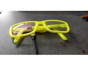 DIY Bone conduction glasses
