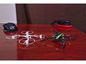 Customizable Micro Brushed Quadcopter