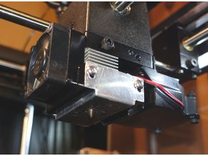 Hot-end insulation for Raise3D single extruder printers N1/N2/N2+.