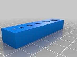 M3 - M10 3D Printed Thread Test