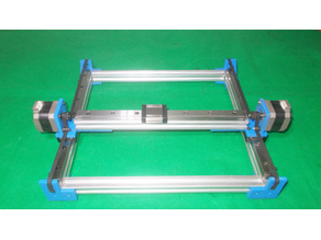 038-Homemade Laser Robotic Drawing Plotter Draw Mill 3D Printer Arduino DIY X Y Axis Slide Linear Frame