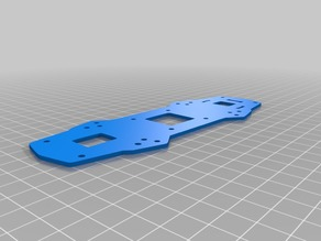 Realacc zmr 180 / 210 Bottom Plate (To replace broken pdb)